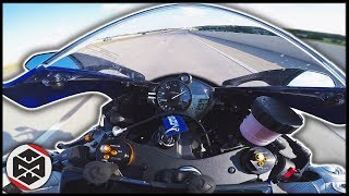 Yamaha R6 TOP SPEED CHALLENGE