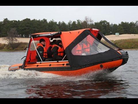 тент для пвх лодки кабриолет видео