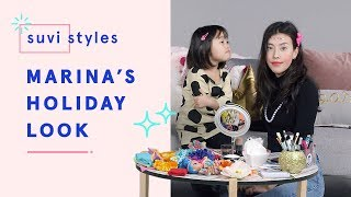 Suvi Gives Marina a Holiday Makeover | Suvi Styles | HiHo Kids