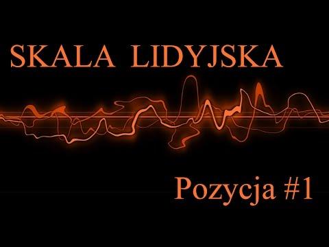 Skala Lidyjska Pozycja Pierwsza - Lekcje Gry Na Gitarze (www.gitarra.pl)