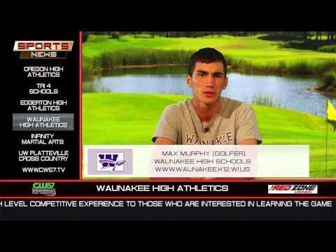 THE SPORTS NEWS | Waunakee High | Max Murphy