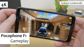 Pocophone F1 Snapdragon 845 , 6 GB Ram, Adreno 630 | Gameplay