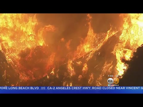 New Evacuations Issued For Burbank As La Tuna Fire Rages