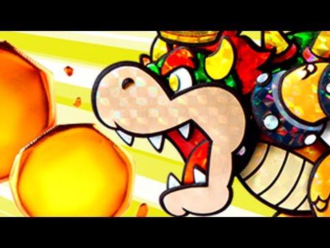 Paper Mario: Sticker Star - All BOSS battles w/Pheonixmaster1