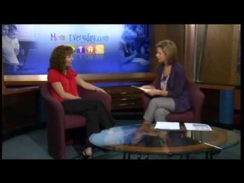 Lisa Wingate With Emily lazzetti at KWTX About Dandelion Summer, Writing and Family Life