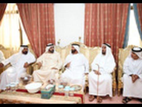 محمد بن راشد يقدم واجب العزاء في وفاة عبدالله الخاطري