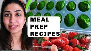 How I am planning my groceries for a month | Meal prep &  save money