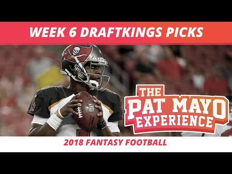 2018 Fantasy Football — Week 6 DraftKings Picks, Preview, Sleepers & Showdown Strategy