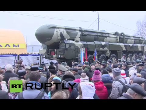 LIVE: Russian Strategic Rocket Forces celebrate anniversary