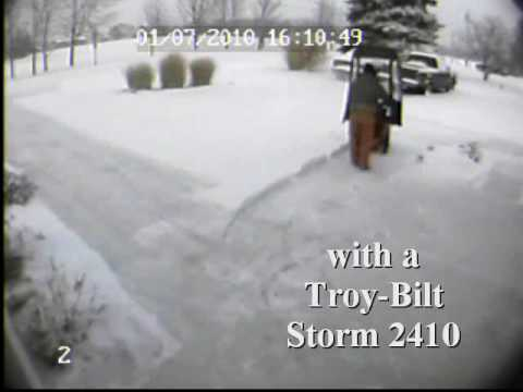 Troy-Bilt Storm 2410 Snow Thrower