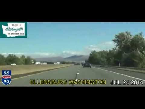 Seattle WA to Milwaukee WI Time Lapse Drive 2014