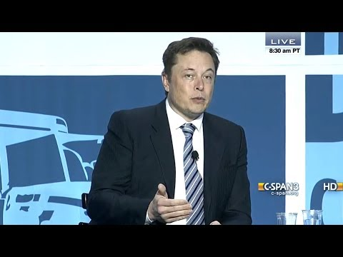 Elon Musk Talks SpaceX and Tesla