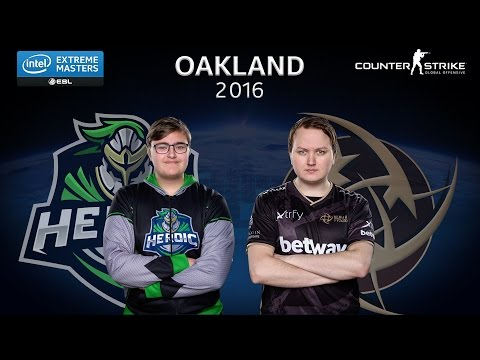 CS:GO - Heroic vs NiP [Nuke] - Group B - IEM Oakland 2016