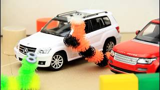 Police Chase & Races with Police Cars & Toy Cars Video for Kids