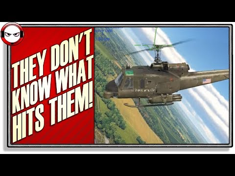 And THAT'S how you use choppers! (War Thunder Helicopter Gameplay)