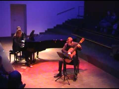 Castelnuovo-Tedesco: Fantasia / Goran Krivokapic&Corneli Smit (part I)