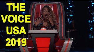 The Voice USA 2019 - Best Blind Auditions Of The Voice usa Season 15 - PART 3