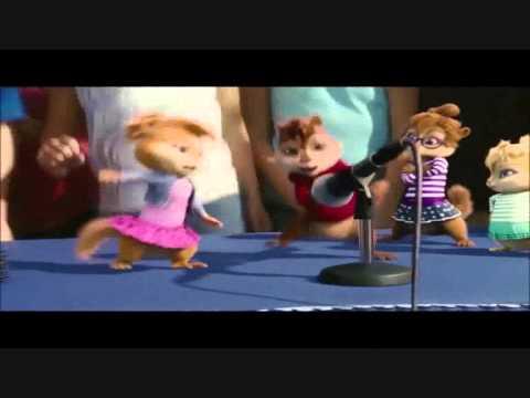 Alvin e os esquilos cantando e dançando Lepo Lepo!!