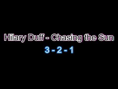 Hilary Duff - Chasing the sun - Karaoke Lyrics [Firecat Release]