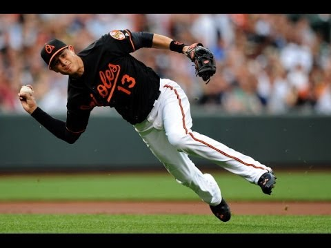 Manny Machado 2013 Gold Glove Highlights HD - Counting Stars