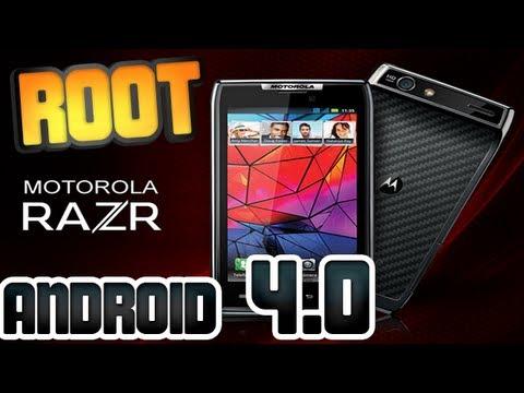 Tutorial - Como fazer ROOT no Motorola RAZR XT910 - Android 4.0