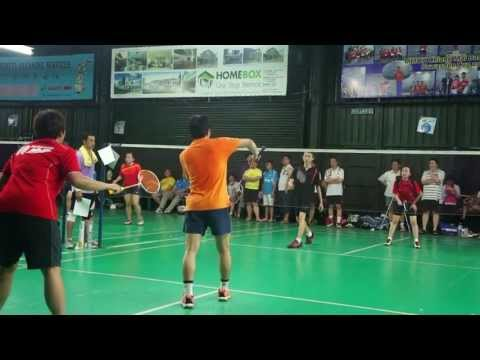 FlexPro Modesliga Badminton League 2013 [Kepong Zone] Match Day 1 Highlights (11-5-2013)
