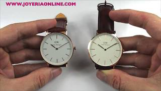 DANIEL WELLINGTON ORIGINAL VS IMITACIÓN