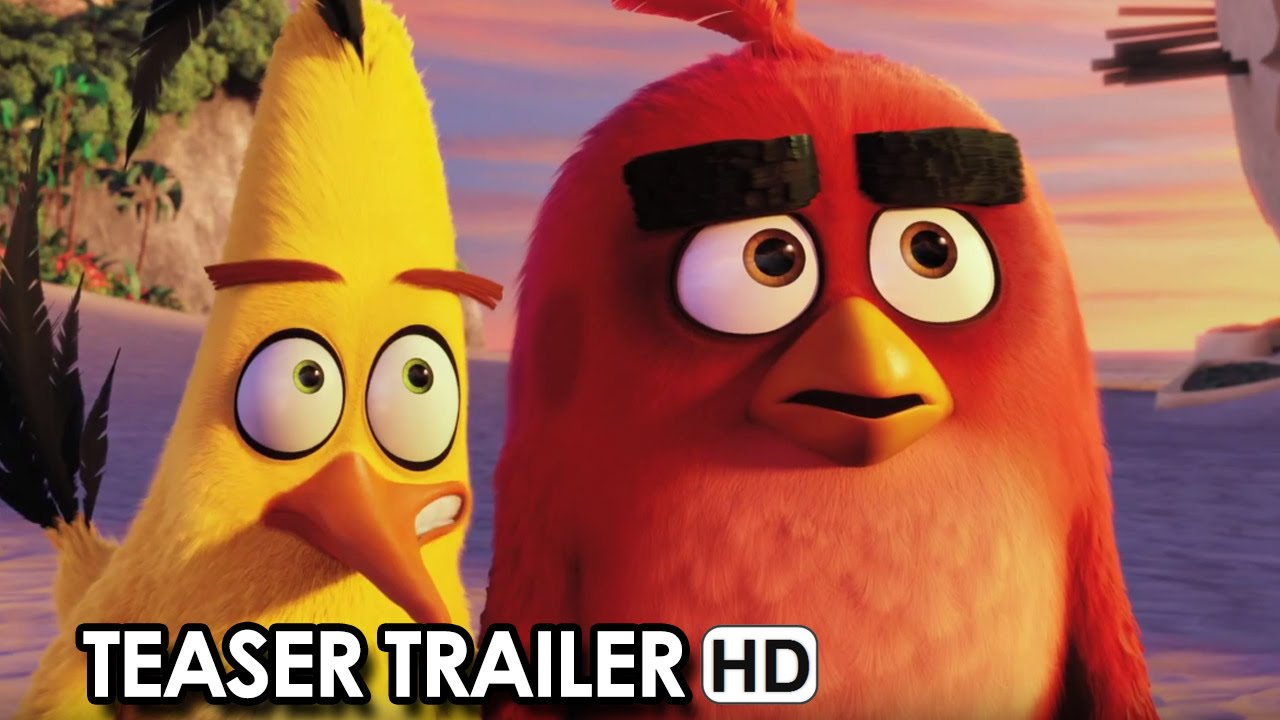 ANGRY BIRDS Teaser Trailer Ufficiale V.O. (2016) HD