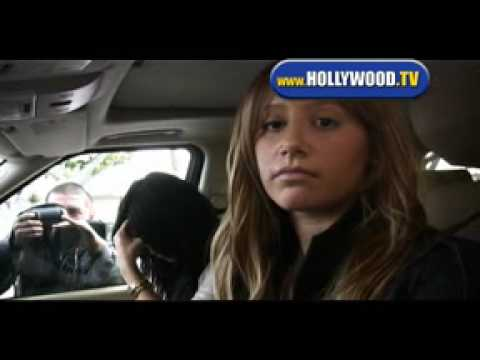 Vanessa Hudgens and Ashley Tisdale At Drive-Thru