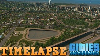 0-250k Population Timelapse | Cities: Skylines