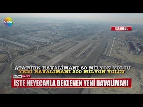İşte heyecanla beklenen  yeni havalimanı
