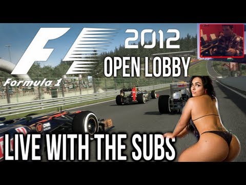 F1 2012 Live With The Subs - #44 *AMATEURS ONLY* #f12012