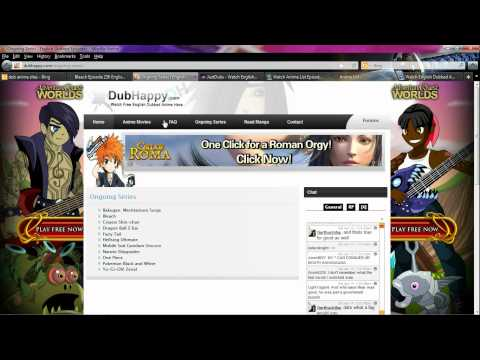 Anime English Dubbed Sites 2012 - Best Of The Best -  Done For A Viewer's Desire To See Dubbed Anime video