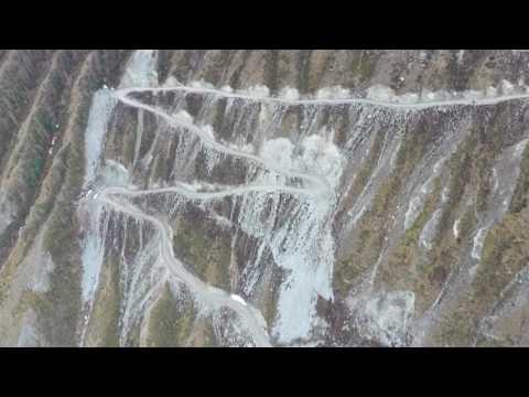 перевал Кату-Ярык с квадрокоптера