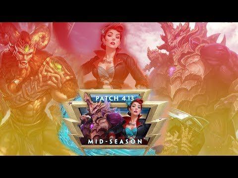 """SMITE Patch 4.13 Mid-Season Patch Notes - """"BYE FATALIS"""""""