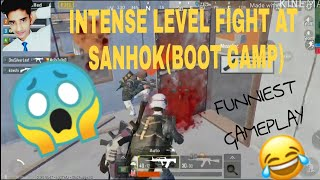 INTENSE AT SANHOK(BOOT CAMP) | (Use Headphone) FUNNIEST GAMEPLAY EVER | BADMAASH COMPANY GAMING