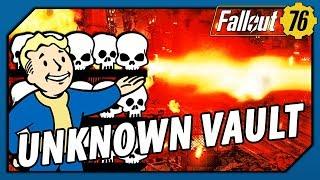 FALLOUT 76 - The UNKNOWN VAULT! What DARK SECRETS Await Us!?
