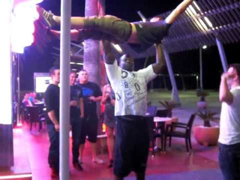 Magaluf Red Lion Bouncer Youtube