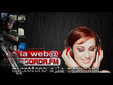 Como hacer una estación de radio fácil  (micrófono a la mexicana).