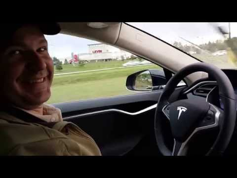 Tesla Autopilot v7.0 Stop and Go Traffic