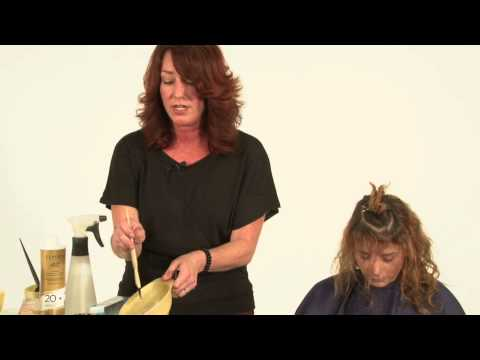 Red Brown Haircolor makeover by Clairol Professional