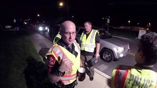 Rude Cop Violates Freedom Of Press At Checkpoint | OAP