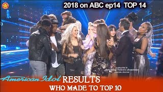 RESULTS TOP 10 REVEALED  Who MADE IT ?- Who  were ELIMINATED?  American Idol 2018 TOP 10