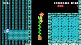 Super Mario Maker - Haunted Pink Coin Hunt by Jiggy