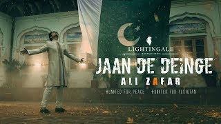 Jaan De Den Ge | Ali Zafar | Pakistan Day | New Release | 23rd March