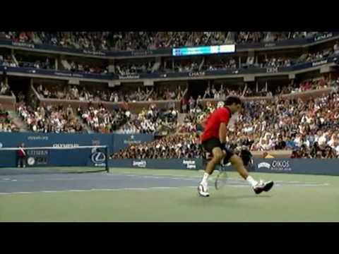 ロジャー フェデラー -- The God Of テニス HD