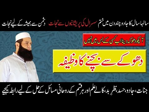 DHOKAY SE BACHNAY KA WAZIFA || DONT BE CHEATED || MOLANA ALI AFAQ