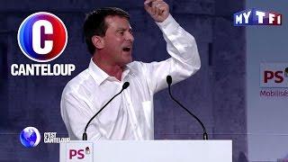C'est Canteloup - Manuel Valls s'énerve à cause d'une chemise trop grande