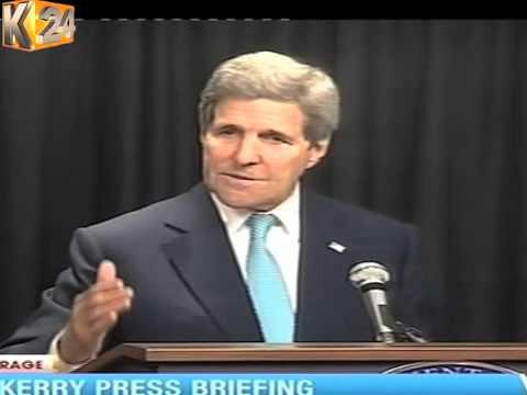 John Kerry Atangaza Ufadhili Zaidi Kwa Kenya Kukabiliana Na Ugaidi