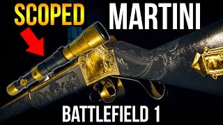 BATTLEFIELD 1 MARTINI SNIPER + HOWDAH SWEEPER GAMEPLAY | BF1 CTE